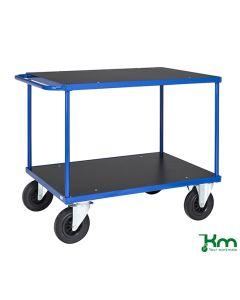 Wózek stołowy. L1000 mm. Niebieski
