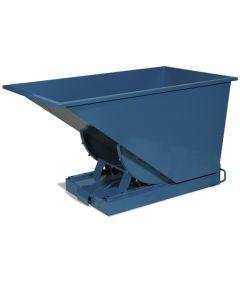 Kontener samowyładowczy, 900 l. RAL5019 Capri blue