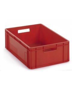 Pojemnik 1/4 EURO. Czerwony