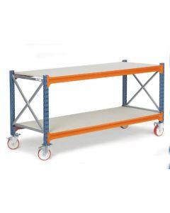 Stół warsztatowy na kółkach. D600 mm