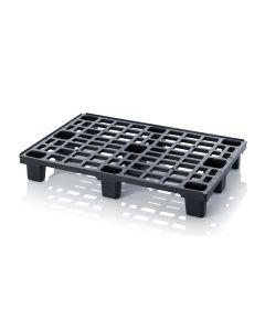Plastikowa paleta L1200 x B800 x H150 mm. Czarna (Auer)