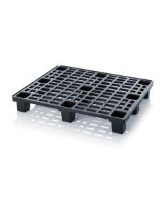 Paleta plastikowa L1200 x B1000 x H150 mm. Czarna (Auer)