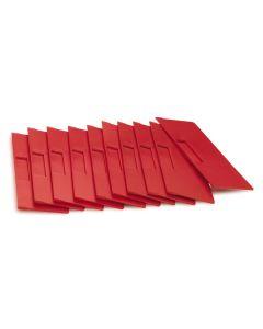 Przekładka poprzeczna. (H140 x B232 mm)*. Czerwona
