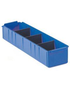 Pojemnik magazynowy. H110xB150xD515 mm. Niebieski