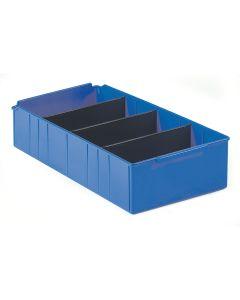 Pojemnik magazynowy. H135xB300xD515 mm. Niebieski