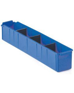 Pojemnik magazynowy. H110xB100xD615 mm. Niebieski