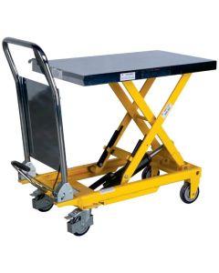 Wózek platformowy, hydrauliczny.