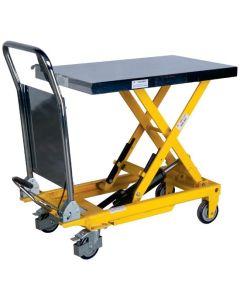 Wózek platformowy, hydrauliczny
